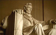 Photo of the Lincoln Memorial from FirstGov.gov Public Service Announcement
