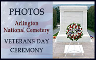 Arlington National Cemetery - Veterans Day Ceremony