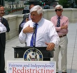 Photo: Congressman Boyd speaks about redistricting reform and The Fairness and Independence in Redistricting Act. Click on the image to hear an excerpt of Congressman Boyd's remarks.