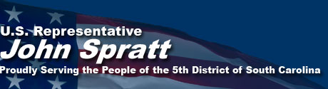 Representative John Spratt, Proudly Serving the People of the 5th District of South Carolina