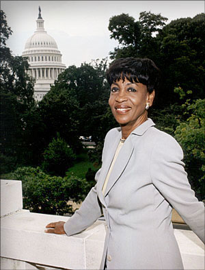 Portrait of Congresswoman Maxine Waters