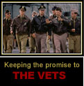 Keeping the promise to the vets