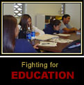 Fighting for education