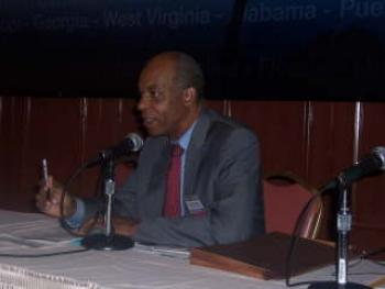 June 16, 2008 -- Representative Jefferson at a panel concerning the Insurability of the Gulf Coast