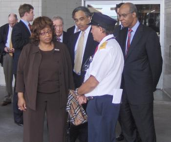February 11, 2008 -- Congressman Jefferson at a Transportation Subcommittee hearing in New Orleans