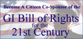 Become a sponsor of the G.I. Bill of Rights for the 21st Century