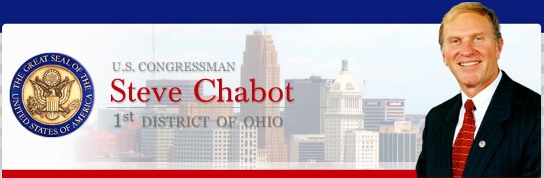 U.S. Congressman Steve Chabot 1st District of Ohio