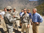 Congressman Platts in Afghanistan.
