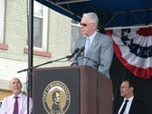 Bunning attends the dedication of the new Lincoln statue in Hodgenville.