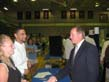 Congressman Buyer speaks to constituents at Franklin Job Fair
