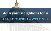 Join Your Neighbors for a Telephone Town Hall