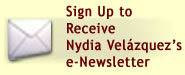 Sign Up to Receive Nydia Velázquez's Newsletter
