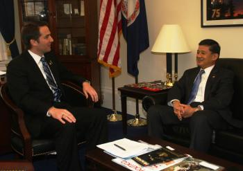 Meeting with Secretary Shinseki