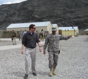 Meeting Troops in Afghanistan