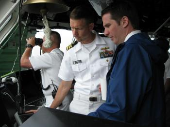 Aboard the USS Freedom (LCS-1)