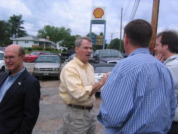 Barrett on Main Street Energy Tour of District