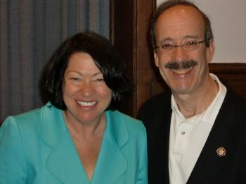 Rep. Engel and Justice Sotomayor