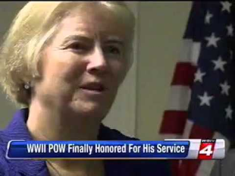 WDIV Ch. 4: Rep. Miller Presents WWII Medals to William Pollauf of Algonac, MI