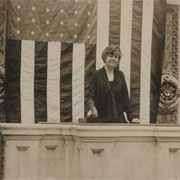 Edith Nourse Rogers at Rostrum