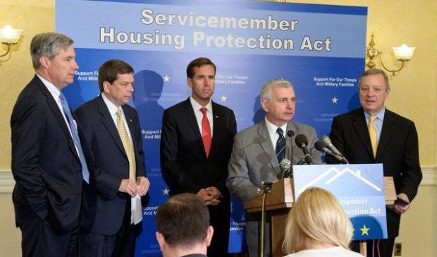 Reed Seeks Expanded Housing Assistance for Troops