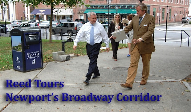 Reed Impressed with Initiative to Grow and Revitalize Broadway Corridor