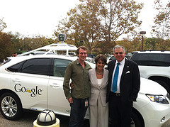 Google Car Demonstration with Secretary LaHood