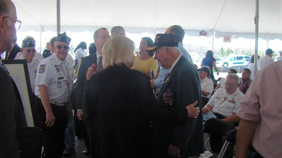 Meeting with Veterans