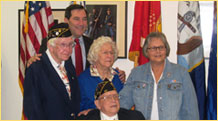 Click for Joe Donnelly Veterans web page