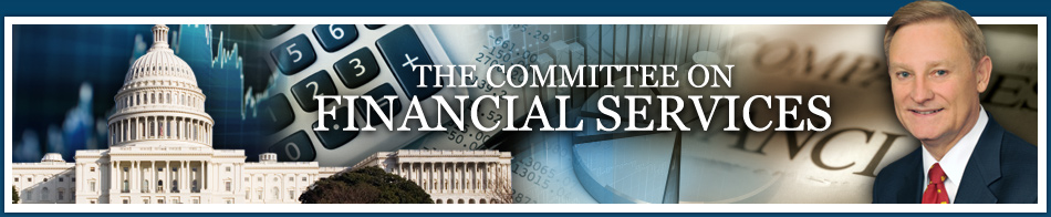 The committee on financial services