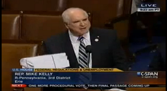 "Rep. Kelly's Rousing Floor Speech Receives Rare Standing Ovation and Chants of ""USA!"" feature image"