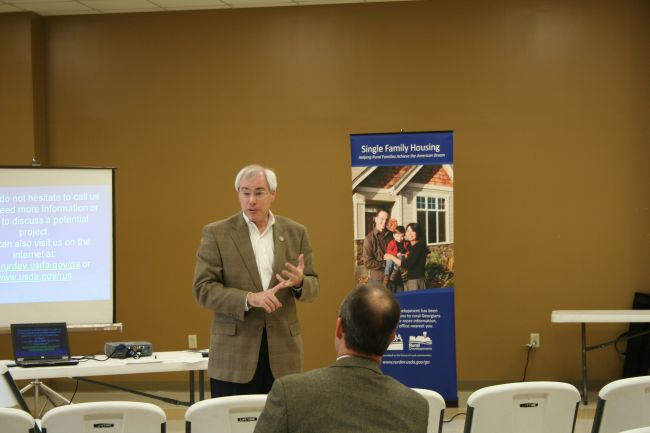 USDA Rural Development Workshop in Claxton