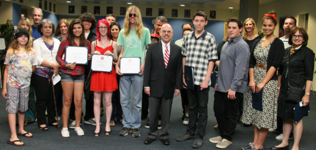 California 30th District's 2012 Congressional Art Competition feature image