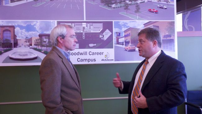 Barrow Tours Goodwill in Augusta