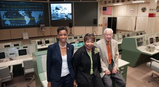 Science Committee Visits Johnson Space Center feature image
