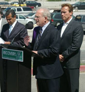 groundbreaking for the 405 freeway northbound carpool lane