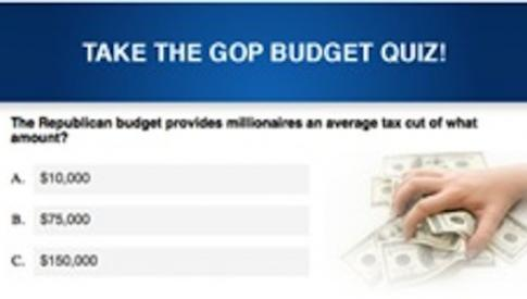 Take the GOP Budget Quiz! feature image