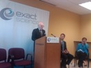 Kohl visits Exact Sciences in Madison to discuss cancer prevention and the need for a strong FDA