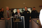 Senator Kohl Attends the Introduction of the Milwaukee Police Department's Shotspotter Technology
