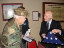 Senator Kohl Presents WWII Medals to Army Veteran Vern Arendt