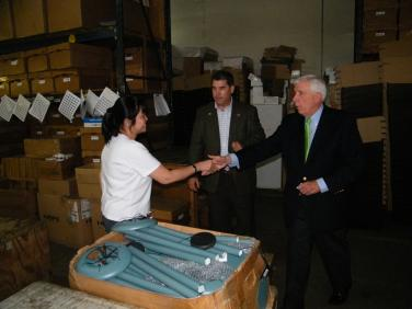 Visit to QMT Windchimes Manufacturing Center