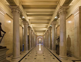 Hall of Columns in the Capitol