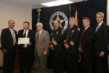 Check Presentation to the Northern Virginia Regional Gang Task Force