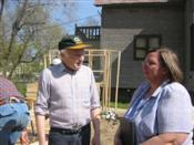 Senator Kohl Pitches in with Habitat for Humanity
