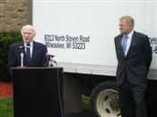 Senator Kohl and Wisconsin Agriculture Secretary Rod Nilsestuen Discuss Farm Bill Benefits for Local Businesses