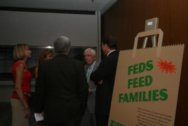 Feds Feed Families Food Drive Kickoff