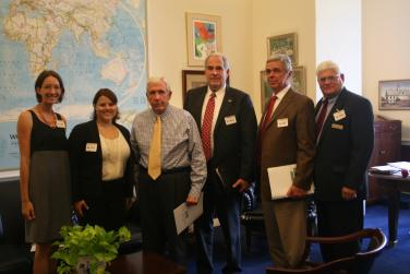 Meeting with the Virginia Agribusiness Council