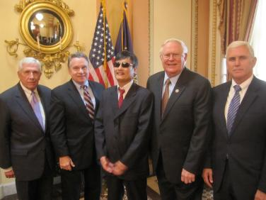 Meeting with Chinese activist Chen Guangcheng