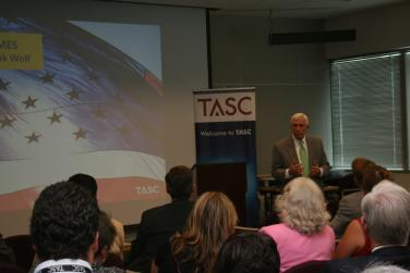 Visit to TASC, Chantilly