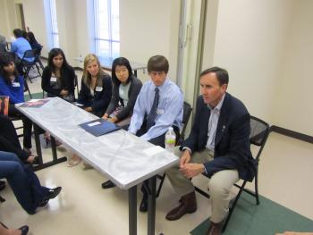 Congressman Olson meets with the Congressional Youth Advisory Council