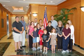 Congressman Olson and the Juvenile Diabetes Research Foundation